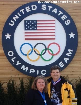David and Tammy Droste - Sochi Olympics 2014