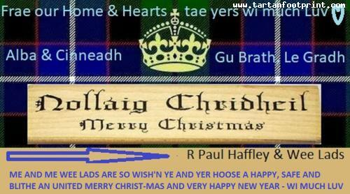 scottish merry christmas greeting2
