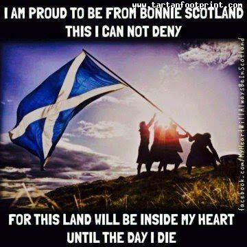 to be a scot